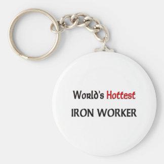 Worlds Hottest Iron Worker Keychain