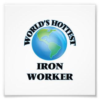 World's Hottest Iron Worker Photo Print