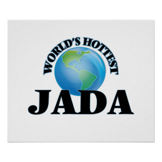 World's Hottest Jada Poster