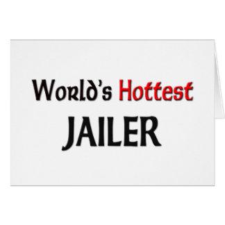 Worlds Hottest Jailer Card