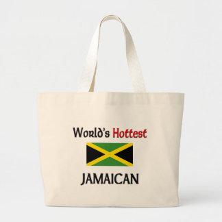 World's Hottest Jamaican Jumbo Tote Bag