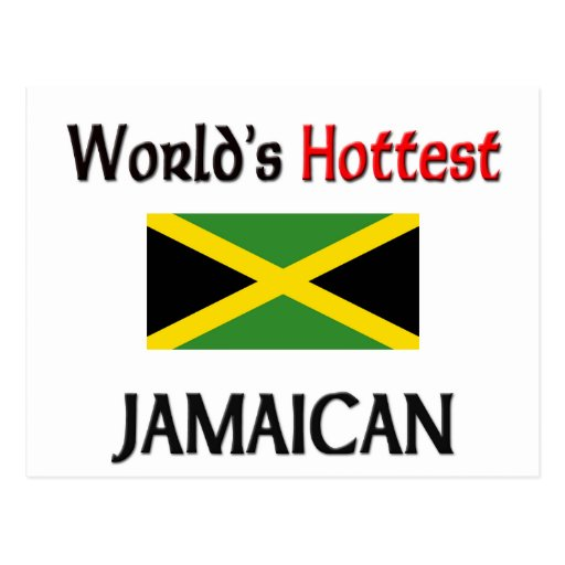 World's Hottest Jamaican Post Card