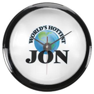 World's Hottest Jon Aqua Clocks