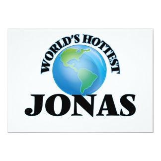World's Hottest Jonas 5x7 Paper Invitation Card