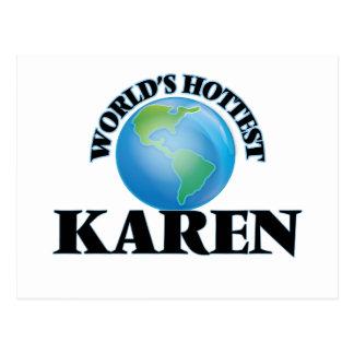 World's Hottest Karen Postcards