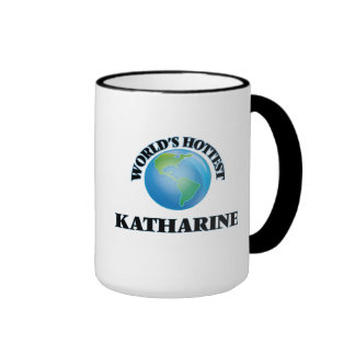 World's Hottest Katharine Ringer Coffee Mug