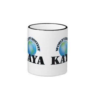 World's Hottest Kaya Ringer Coffee Mug