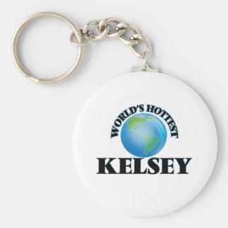 World's Hottest Kelsey Keychain