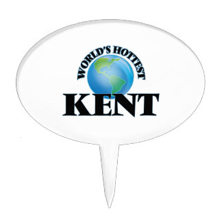 World's Hottest Kent Cake Topper