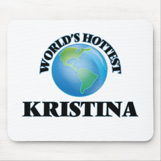 World's Hottest Kristina Mouse Pad