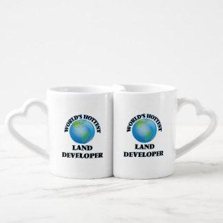 World's Hottest Land Developer Couples' Coffee Mug Set