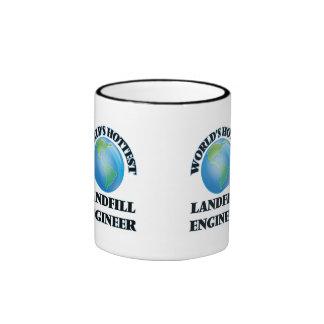 World's Hottest Landfill Engineer Ringer Coffee Mug