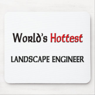 Worlds Hottest Landscape Engineer Mouse Pad
