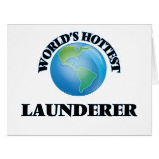 World's Hottest Launderer Card