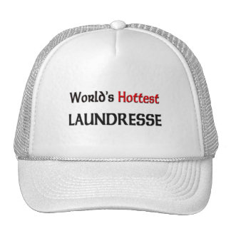 Worlds Hottest Laundresse Mesh Hat