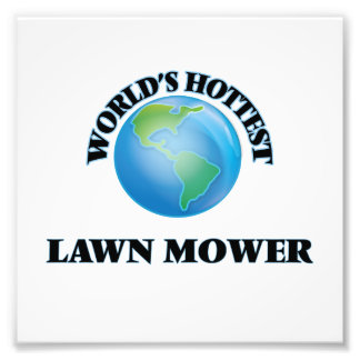 World's Hottest Lawn Mower Photo