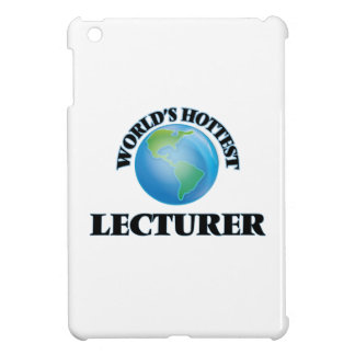 World's Hottest Lecturer iPad Mini Cover