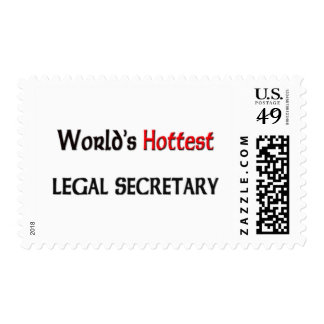 Worlds Hottest Legal Secretary Stamps