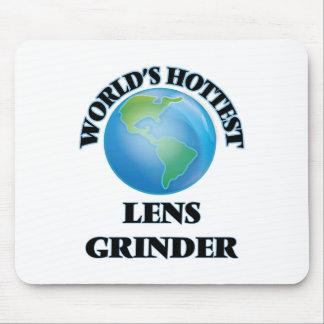 World's Hottest Lens Grinder Mouse Pad
