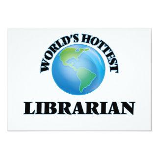 World's Hottest Librarian Custom Invites