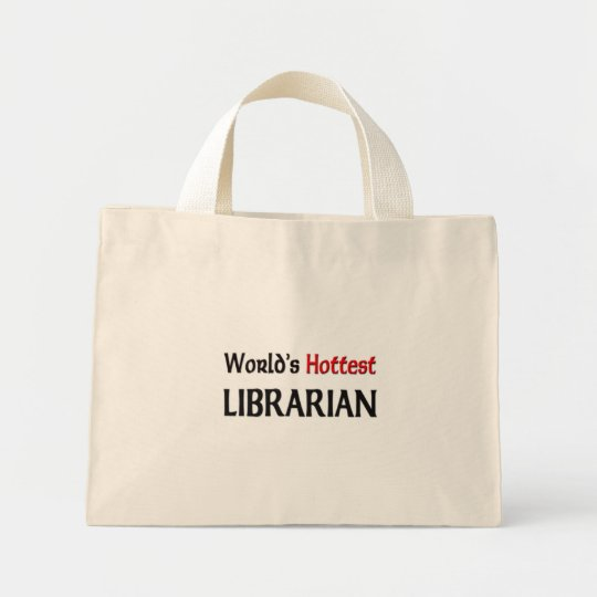 Worlds Hottest Librarian Mini Tote Bag