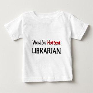 Worlds Hottest Librarian Tshirt