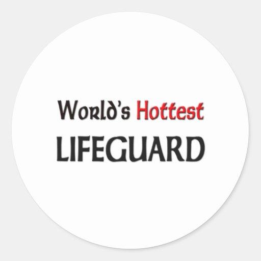 Worlds Hottest Lifeguard Sticker