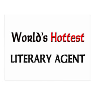 Worlds Hottest Literary Agent Post Cards