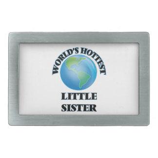 World's Hottest Little Sister Belt Buckle