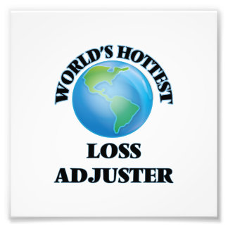 World's Hottest Loss Adjuster Photograph