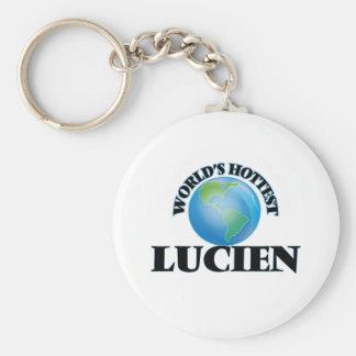 World's Hottest Lucien Keychain