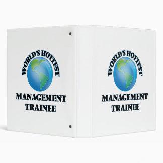 World's Hottest Management Trainee Vinyl Binders