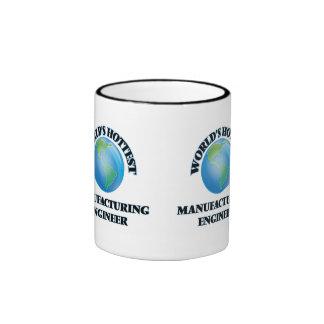 World's Hottest Manufacturing Engineer Ringer Coffee Mug