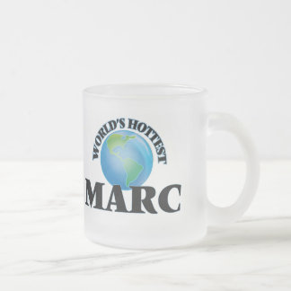 World's Hottest Marc 10 Oz Frosted Glass Coffee Mug