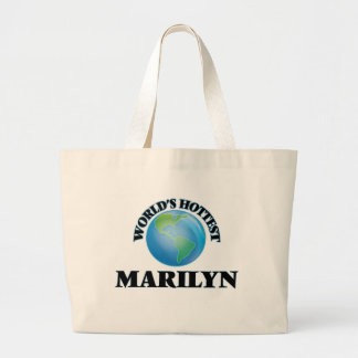 World's Hottest Marilyn Jumbo Tote Bag