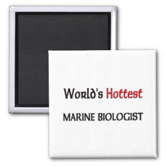 Worlds Hottest Marine Biologist Refrigerator Magnets