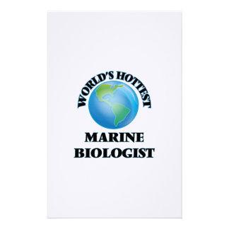 World's Hottest Marine Biologist Stationery