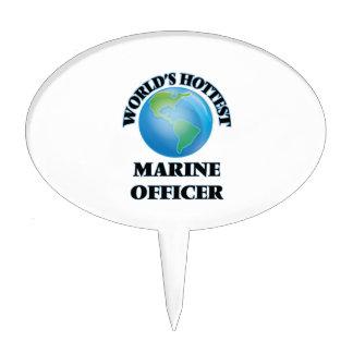 World's Hottest Marine Officer Cake Topper