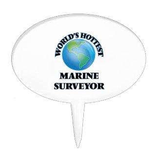 World's Hottest Marine Surveyor Cake Topper