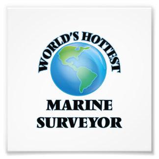 World's Hottest Marine Surveyor Photograph