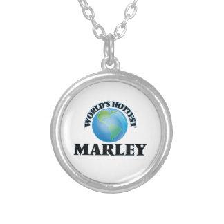 World's Hottest Marley Round Pendant Necklace