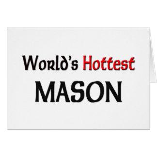 Worlds Hottest Mason Card