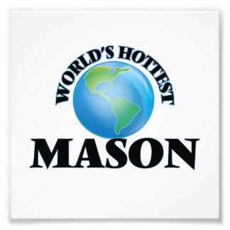 World's Hottest Mason Photo Print