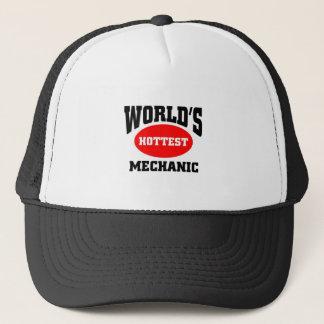 WORLD'S HOTTEST MECHANIC TRUCKER HAT