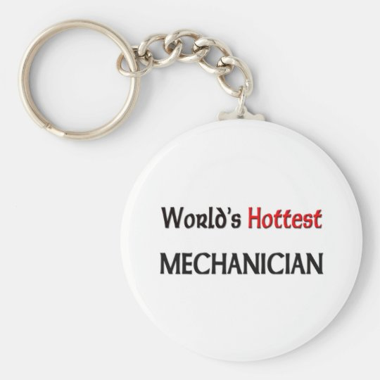 Worlds Hottest Mechanician Keychain