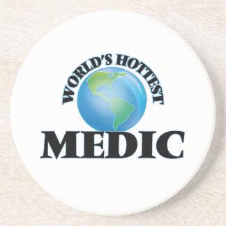 World's Hottest Medic Beverage Coaster