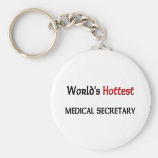Worlds Hottest Medical Secretary Keychain