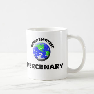 World's Hottest Mercenary Classic White Coffee Mug