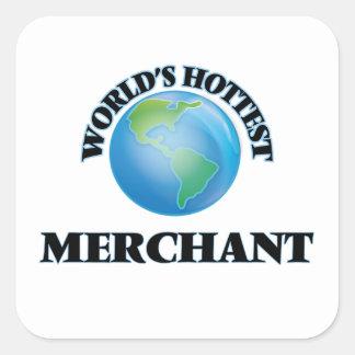 World's Hottest Merchant Square Sticker