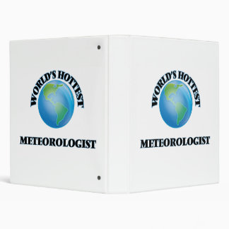 World's Hottest Meteorologist 3 Ring Binders